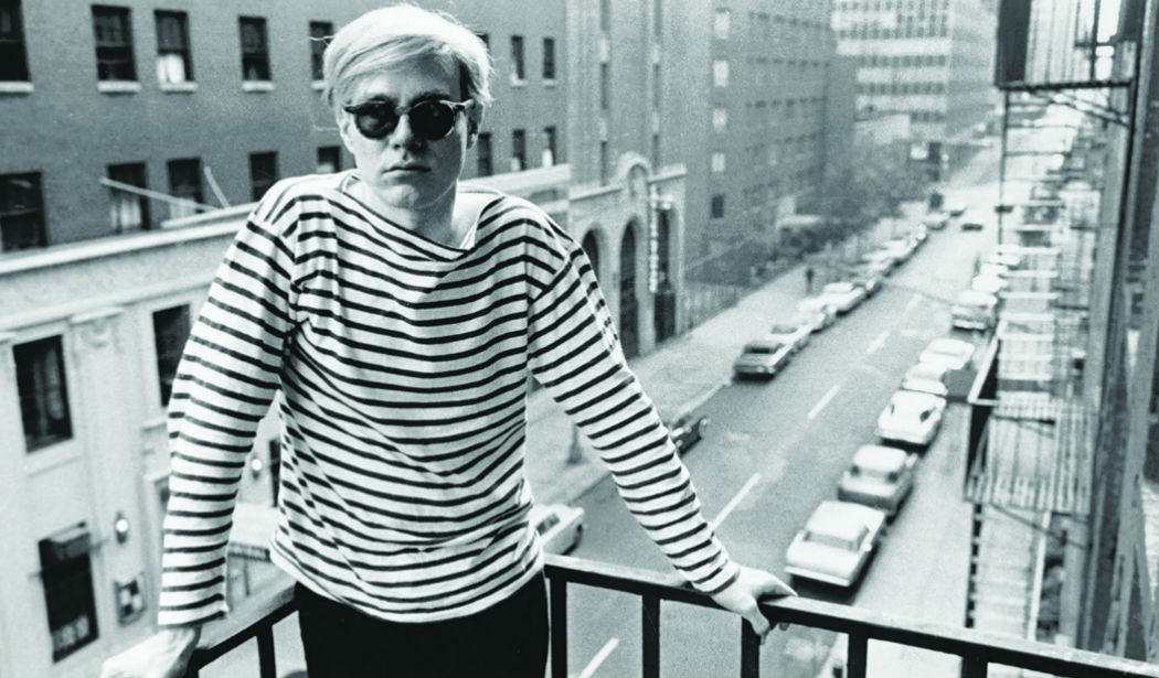 main dec 5 warhol on fire escape of the factory 231 east 47th street